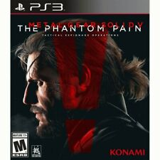 Metal Gear Solid V: The Phantom Pain PS3 - For PlayStation 3 - ESRB Rated M (Mat
