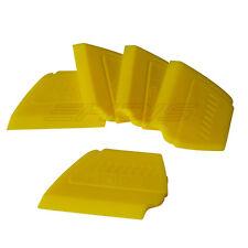 5 Vinyl Carbon Fibre Car Wrapping Squeegee Applicator Edge Plastic Tint Tools