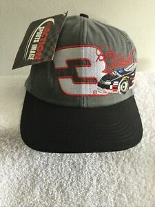 Dale Earnhardt Snapback Hat Nascar USA Racing Goodwrench Gray RARE Cap #3 NWT