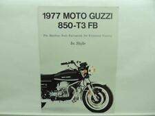 1977 Moto Guzzi 850-T3 FB Brochure B3182