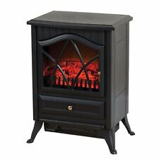 Electric Fireplace 2000W Log Burn Flame Effect Stove Fire Heater Free Standing