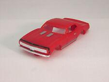 MODEL MOTORING RED/BLK STRIPE '67 CAMARO RS SHELL ~ NEW ~ FITS AURORA TJET
