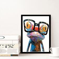 5D DIY Diamond Painting Frog Cross Stitch Kits Full Rhinestones Home Decor US