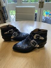 Air and Grace Black Starlight Ankle Boots Size 5 (38)/RRP £279