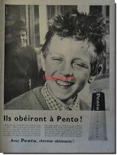 Publicité Advertising 1959 - PENTO  (Advertising paper)