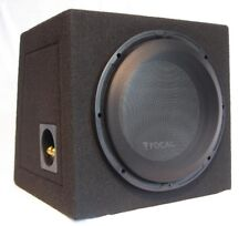 """FOCAL KIT 25A4 10""""/25cm 200W RMS SUBWOOFER SEALED MDF BOX + MESH-GRILE, NEW"""