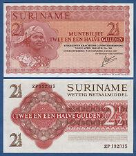 SURINAM / SURINAME 2 1/2 Gulden 1967 UNC P.117 b