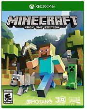 Minecraft: Xbox One Edition [Xbox One, Mojang, Open Word Building Sim] NEW