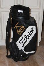 Titleist DCI Michael Bradley PGA Tour Staff Leather Golf Bag FT1098