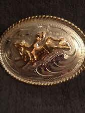 With Bronc Rider Small Belt Buckle