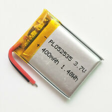 400mAh Lipo Polymer ion Battery 3.7V For mp3 MID DVD GPS bluetooth camera 502535