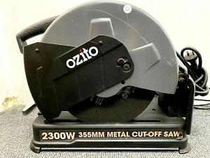 AS NEW Ozito 2300W 355mm Abrasive Metal Steel Cut Off Drop Saw 2355