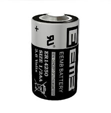 1 Piece New 3.6V 1200mAh ER14250 LI-SOCl2 1/2AA Battery Non-rechargeable
