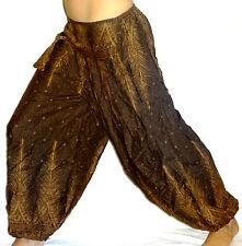 Sarouel Femme marron Pantalon Ethnique Aladin Harem Pant brown aladdin
