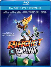 Ratchet & Clank (Blu-ray/DVD, 2016, 2-Disc Set)
