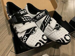 BONT Riot Road Cycling Shoe Euro 44 Black White