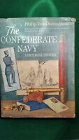 The Confederate Navy - A Pictorial History by Philip Van Doren Stern 1962 1st Ed