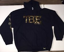 Official TMT Floyd Mayweather Money Team Best Ever Black Gold Hoodie Limited XL