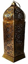 Artshai Vintage tealight holder lantern for home decor 9 inch made from iron