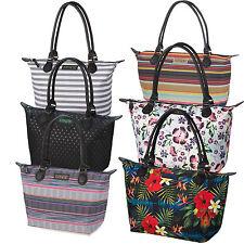 Zweien Träger im Shopper/Umwelttaschen-Stil aus Synthetik mit Reißverschluss