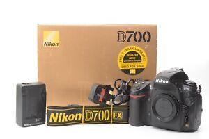 Nikon D700 12.1MP Digital SLR DSLR Camera (Body Only) - Black ***4,706 shots***