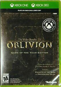 Elder Scrolls IV: Oblivion - Microsoft Xbox One Xbox 360 Bethesda XBONE GOTY NEW
