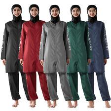 New Burkini Muslim Swimwear Women Full Cover Swimsuit Modesty Islamic Beachwear