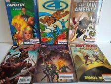 Comic book lot Avengers Fantastic Four 4 Captain America Ant Man Wasp Marvel