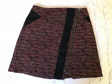 CUE A-LINE TWEED SKIRT Fully Lined