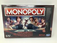 Stranger Things Monopoly Edition Board Game Hasbro Brand New Sealed