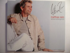 "Matthias Reim  Lebenslänglich   1 Track  5"" Promo Maxi - CD   2000  ultra rar!!!"