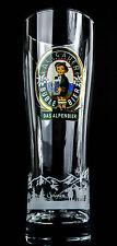 """Allgäuer Brauhaus, Büble Bier, Bierglas, Sammlerglas 0,5l""""Allgäuer Aussichten"""""""