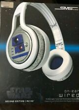 Star Wars R2D2 Headphones SMS Audio R2-D2 On-Ear Wired, w/ Carrying Case