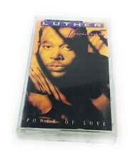 Luther Vandross Power of Love Cassette