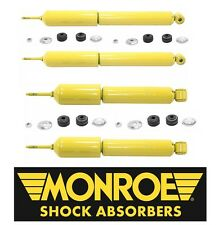 Monroe Gas Magnum Front & Rear Shocks ford E150 E150 Econoline
