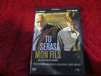 """DVD  """"TU SERAS MON FILS"""" Niels ARESTRUP, Lorant DEUTSCH"""