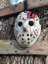 Jason Voorhees Part 4 Custom Hand Painted Mask  -high Quality- Friday The 13th