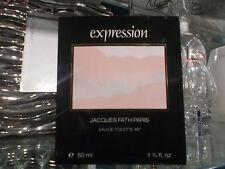 EXPRESSION JACQUES FATH 50 ML EDT RARE VINTAGE PERFUME