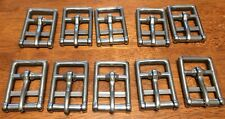 "Only $2 for 10 High-Quality Stainless Steel Roller End Buckles (1-3/8"" X 2"")"