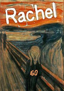 Personalised The Scream/Art/Edvard Munch Birthday Card