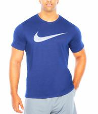 cabe4f1a3f13 Mens Nike Swoosh Short Sleeve Tee Shirt Big   Tall -3XLT- Blue 839893-