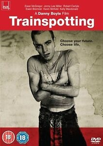 Trainspotting - DVD BRAND NEW SEALED Ewan McGregor Danny Boyle Robert Carlyle