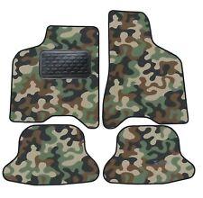Armee-Tarnungs Autoteppich Autofußmatten Auto-Matten für VW Lupo 1998-2005