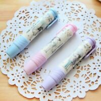 Student Pen Shape Eraser Rubber Stationery Kid Gift Cute School Supplies v