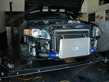 CX FMIC 29x11x3 Intercooler Kit For 05 06 07 08 Audi A4 B7 2.0T Blue Hoses
