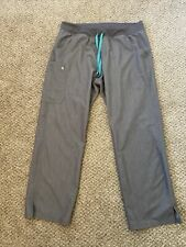 Figs Scrubs Women Gray Kade Cargo Nurse Pants Size Xl