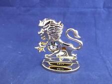Crystocraft Leo il leone scultura con strass cristalli swarovski.