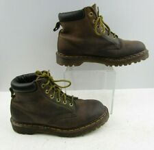 Ladies Dr. Martens Brown Leather Lace Up Shoes Size : 7 ?