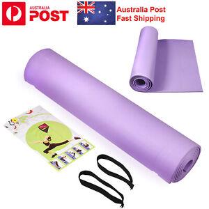 6mm Yoga mat fitness sport environmental protection foam nonslip Pilates fitness