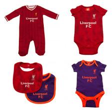 32c5fa234 LIVERPOOL FC 2019 Clothes Bodysuit Sleepsuit Bib Shirt   Shorts Baby Gifts